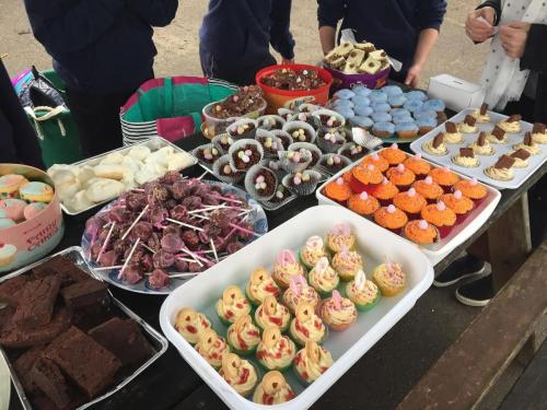 Niamh and friends bake sale